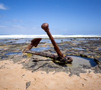 Ships Anchor, Wreck Beach